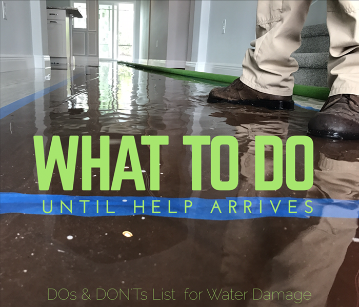Storm Damage What To Do Until Help Arrives: When Water Damage Occurs